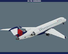 3D asset CRJ700 Delta