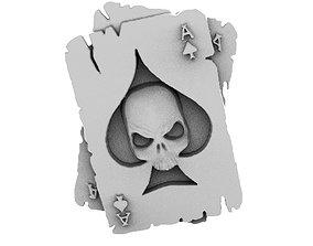 Skull cards 3D print model