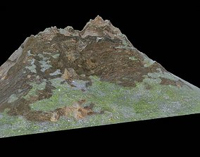 Low-Poly Realistic Mountain 3D model