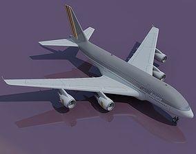 Asiana High detailed Jet Model