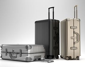 Rimowa Topas Multiwheel Trolley Bag 3D model