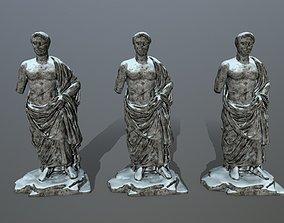 3D asset realtime statue 1