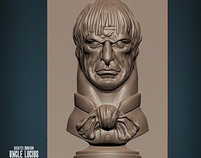 Haunted Mansion Uncle Lucius Staring 3D printable model