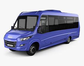 3D model Iveco Daily VSN-700 Bus 2018