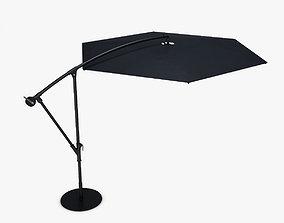 Offset Patio Umbrella 3D