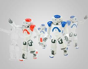 3D model Robot Nao