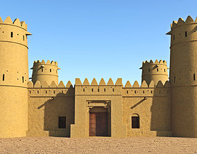 3D asset game-ready Arab Fort
