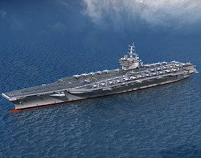 Aircraft Carrier CVN76 USS Ronald Reagan 3D