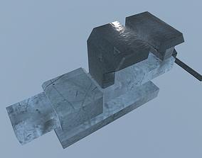 Vise Iron 3D model