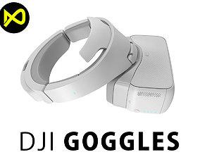 DJI Goggles FPV Headset 3D model
