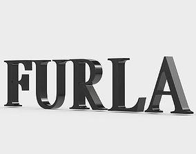 3D Furla logo furla