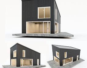 3D asset Villa house 5