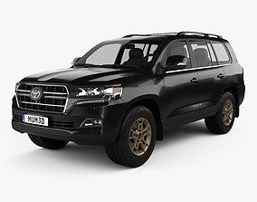 Toyota Land Cruiser US-spec Heritage Edition 2021 3D model