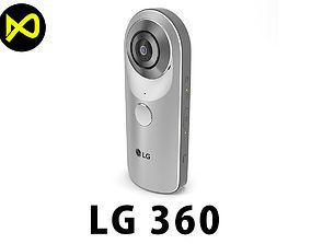 3D model LG 360 Camera