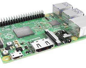 3D model Raspberry pi 2