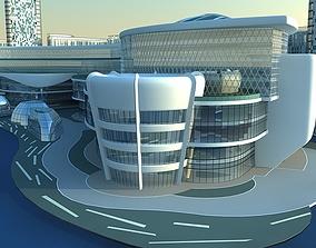 Futuristic Skyscrapers 2 3D