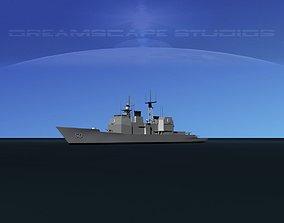 3D asset USS Valley Forge CG-50 LP