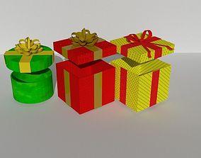 3D model Gift christmas