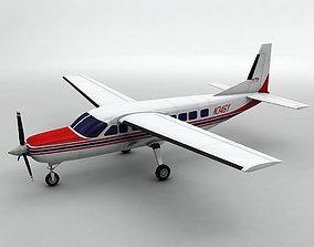 3D model Cessna Caravan 208B Aircraft
