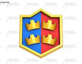 3D asset Clash Royal Team Battle