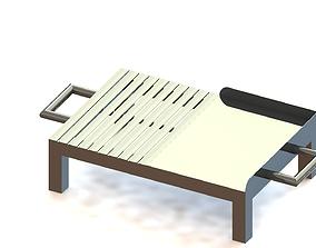 inox 3D model grill