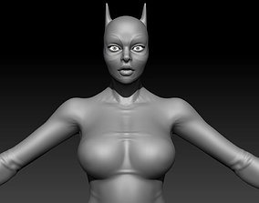 Hero Woman Female Basemesh 3D model