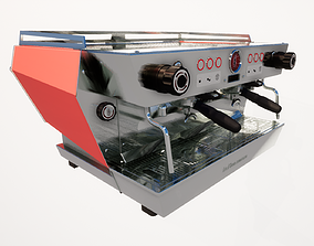 3D model MARZOCCO - KB90 2 groupes