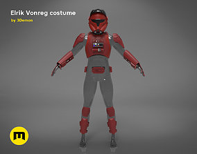 elrik 3D printable model Erik Vonreg armor
