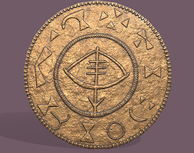 3D model Viking Coin