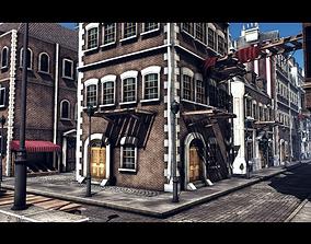 3D asset Town Construction Pack