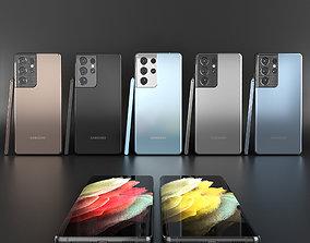 Samsung Galaxy S21 Ultra technology 3D model