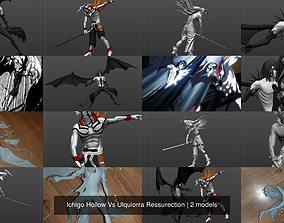 Ichigo Hollow Vs Ulquiorra Ressurection 3D