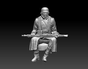German soldier 3D print model ww2 officer
