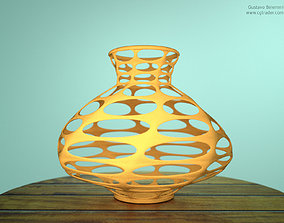 3D print model Abstract Vase Thick