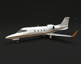 Learjet 54-55-56 Longhorn private jet 3D
