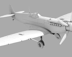 3D SUPERMARINE SPITFIRE MK XIV supermarine