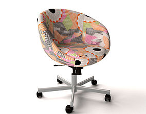 IKEA SKRUVSTA Swivel chair Ankarsvik 3D