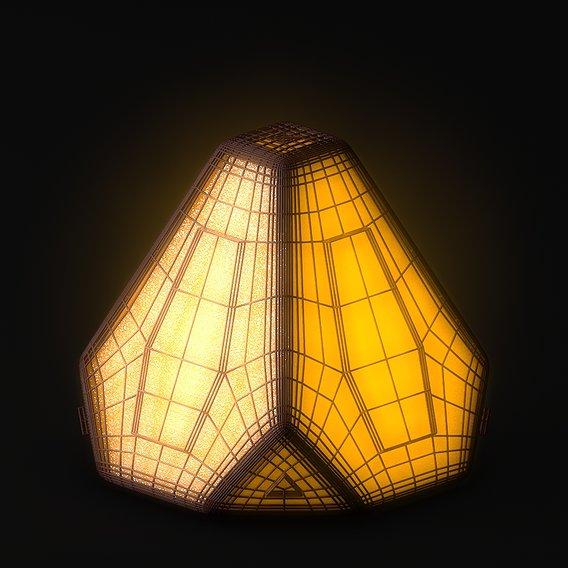 Sci-fi Pyramid - Lantern