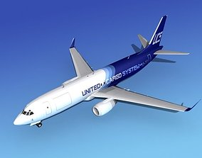 Boeing 737-800ER United Cargo 3D
