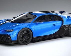 3D Bugatti Chiron Pur Sport 2021