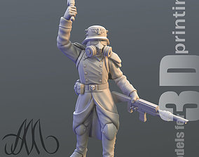 3D print model Death Korps of Krieg soldier