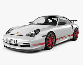 3D Porsche 911 GT3RS Coupe 996 2003