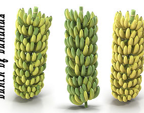 Bunch of bananas 3D