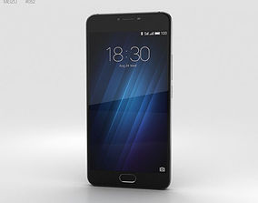 screen 3D model Meizu U20 Black