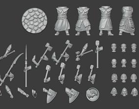 3D printable model Warrior Priests Set 2