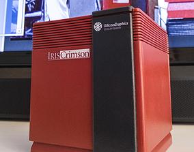 SGi Crimson Jurassic Park Pi Case 3D print model