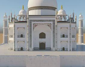 Taj Mahal Mausoleum 3D
