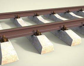 Railway 3D model