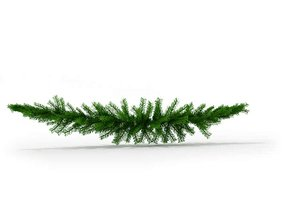 Pine Bough Decoration 3D