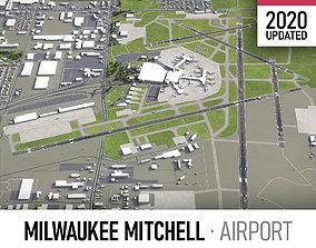 3D asset Milwaukee Mitchell International Airport - MKE